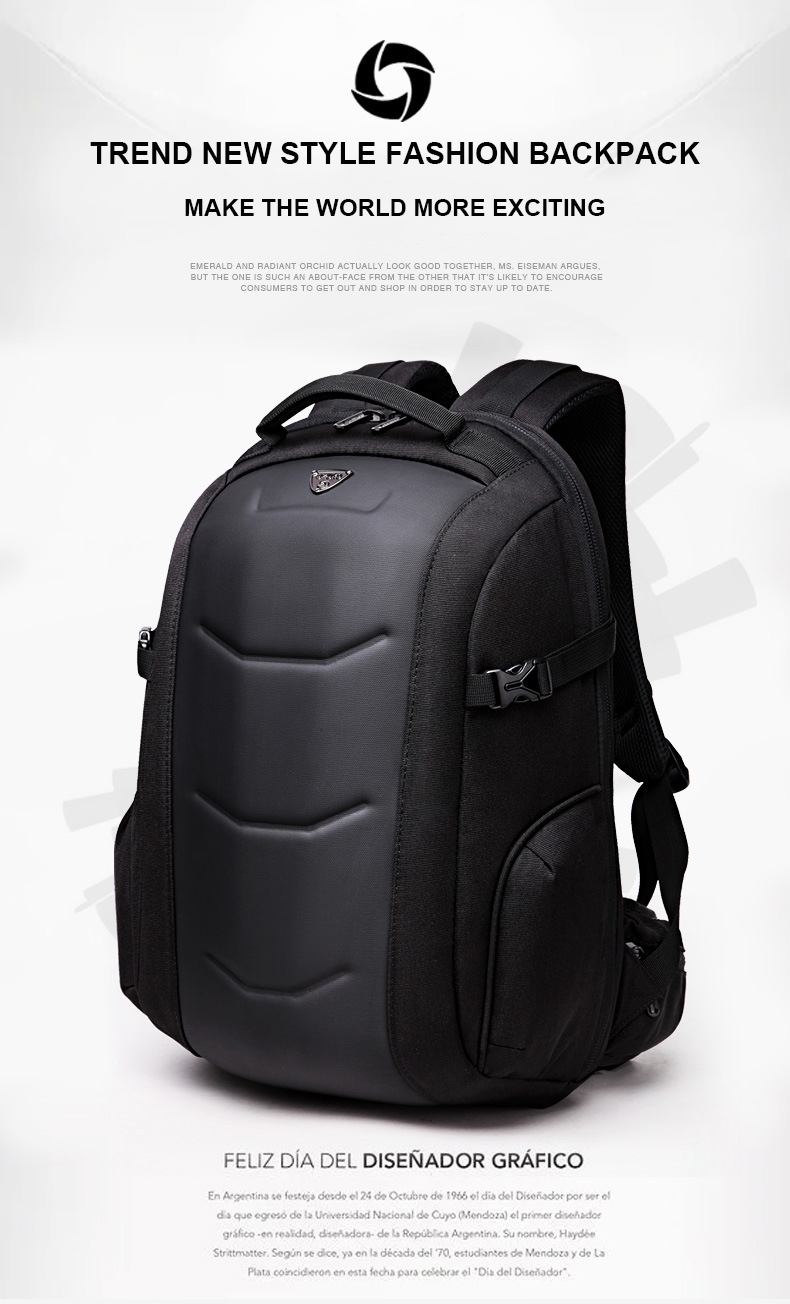 OZUKO New Arrive Backpack Men Business Laptop Backpack Multifunction Waterproof  Travel Bag Male Mochila School Bags For Teenager 26ce1b41e1e8d