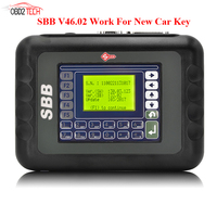 New Slica SBB Key Programmer V46.02 Work for New Car Key Multi language Better than V33.02 By DHL Fast Shipping