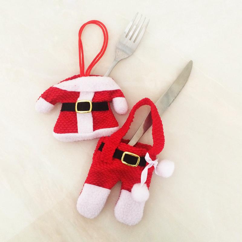 unidslote pantalones de vestir de navidad de pap noel de vajilla de estilo