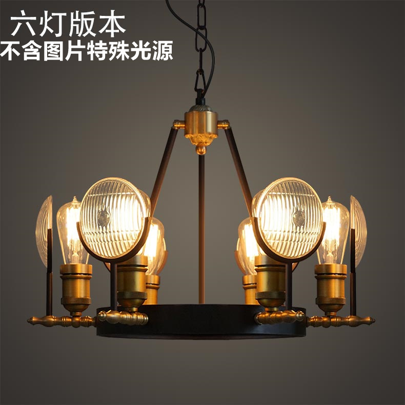 Industrial style retro Hotel  Bar decorated the living room of the cafe American style after the modern Edison big pandent lamp the nordic style of the modern style of the living room bar restaurant coffee bar creative light manual weaving tree hang lamp