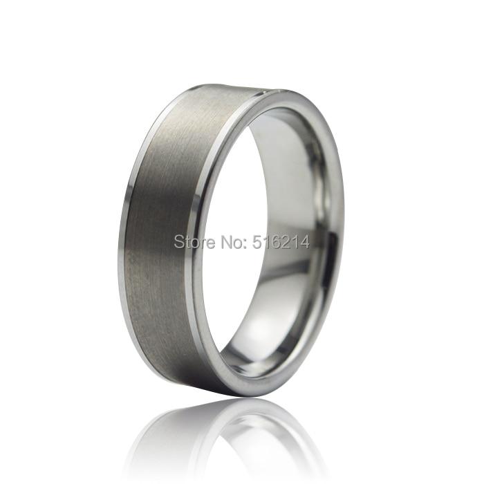 Customized 7mm Women Men S Tungsten Carbide Wedding Band