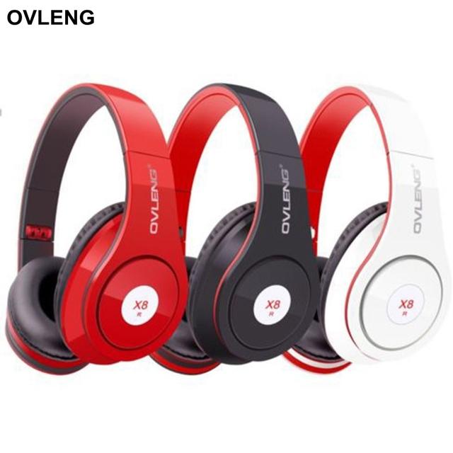 OVLENG X8 Deeep Bass Gaming Headset Diadema Auricular de Cancelación de Ruido de Sonido Estéreo Plegable Auriculares con Micrófono de 3.5mm