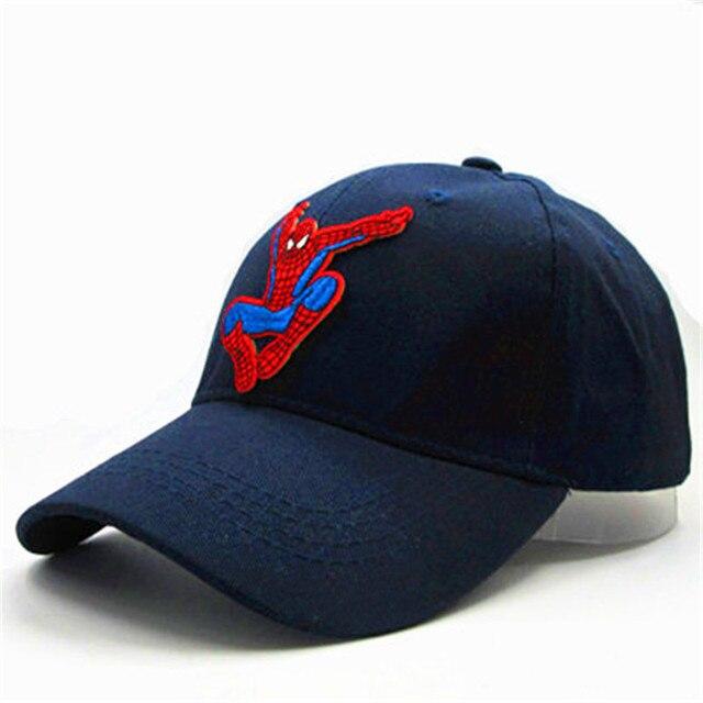 spider hero embroidery cotton Casquette Baseball Cap hip-hop cap Adjustable Snapback  Hats for kids men women 324 491e89315a9b