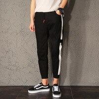 Original Japanese Haren trousers nine points pants pants summer pants, black pants, men's clothing.