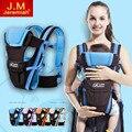 Respirável multifuncional frente virada baby carrier infantil confortável sling backpack pouch envoltório canguru bebê 2-30 meses