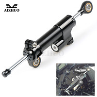 Universal Motorcycle Damper Steering Stabilize Safety Control For Yamaha YZFR125 YZF R125 2008 2013 XSR 700 ABS MT25 XP500 XP530