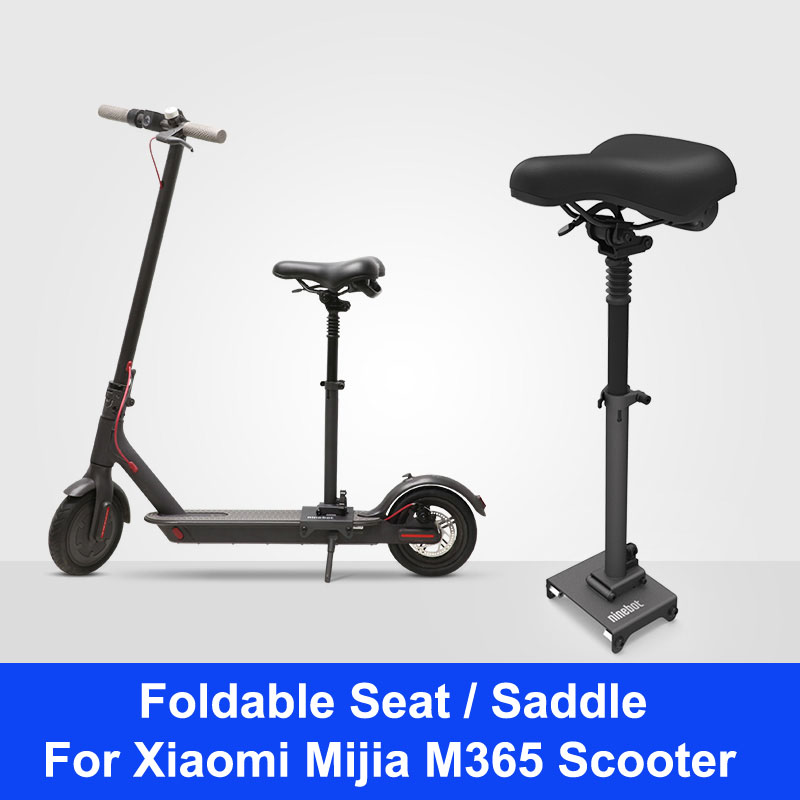 купить Official Xiaomi Scooter Saddle Foldable Seat Electric Scooter Seat Height Adjustable Shock Absorbing for Scooter M365 по цене 6462.92 рублей