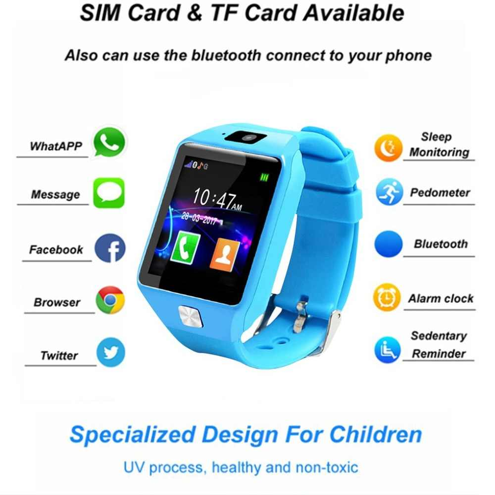 DZ09 SmartWatch For Android IOS cell phone Children Tracker Wristband Camera Bluetooth TF SIM Cards Touch Screen Wrist Watch