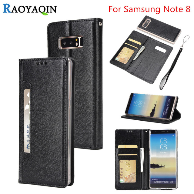 For Coque Samsung Note 8 / Note8 SM-N950F Luxury Magnet wallet Flip Case For Samsung Galaxy note 8 Card Leather Phone Case Cover