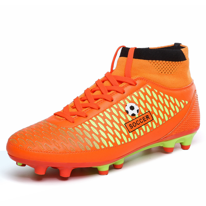 ea4acb886861 2017 New Youth Superfly High Ankle Football Boots Kids Professional Cleats  Bottom Outdoor Sports for Men Boys Trainers,EJ073-in Sneakers from Mother &  Kids ...