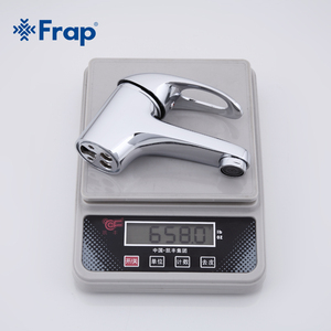 Image 5 - Frap קלאסי סגנון אגן מגופים סיפון רכוב קר וחם מים מיקסר יחיד ידית Torneira F1003