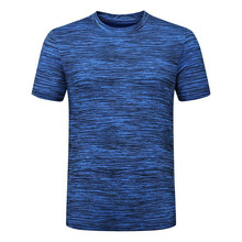 BHWYFC Quick Dry Running t Shirt Gym t-shirt Men Short Sleeve Outdoor Sports Top Sportswear Men Fitness Gym O-neck Ice Silk Mens new men s t shirt summer sports running top t shirt men s short sleeve casual o collar cotton fitness t shirt sportswear