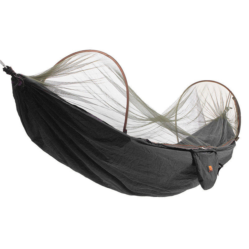 Hot Sale Outdoor Portable Camping Parachute Hammock Tent Part Hanging Swing Bed With Mosquito Net Tent Accessories hot sale fashion hot sale coconut palm iron wall hanging basket