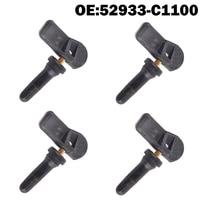 4 PCS Car Tire Pressure Monitor Sensor TPMS 52933C1100 52933 C1100 for Hyundai Creta IX25 Tucson I40 IX35 Sonata 2014 2018 Tucso