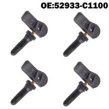 Monitor de presión de neumáticos de coche Sensor TPMS 52933C1100 52933 C1100 para Hyundai Creta IX25 Tucson I40 IX35 Sonata 2013 2019 Tucso, 4 Uds.