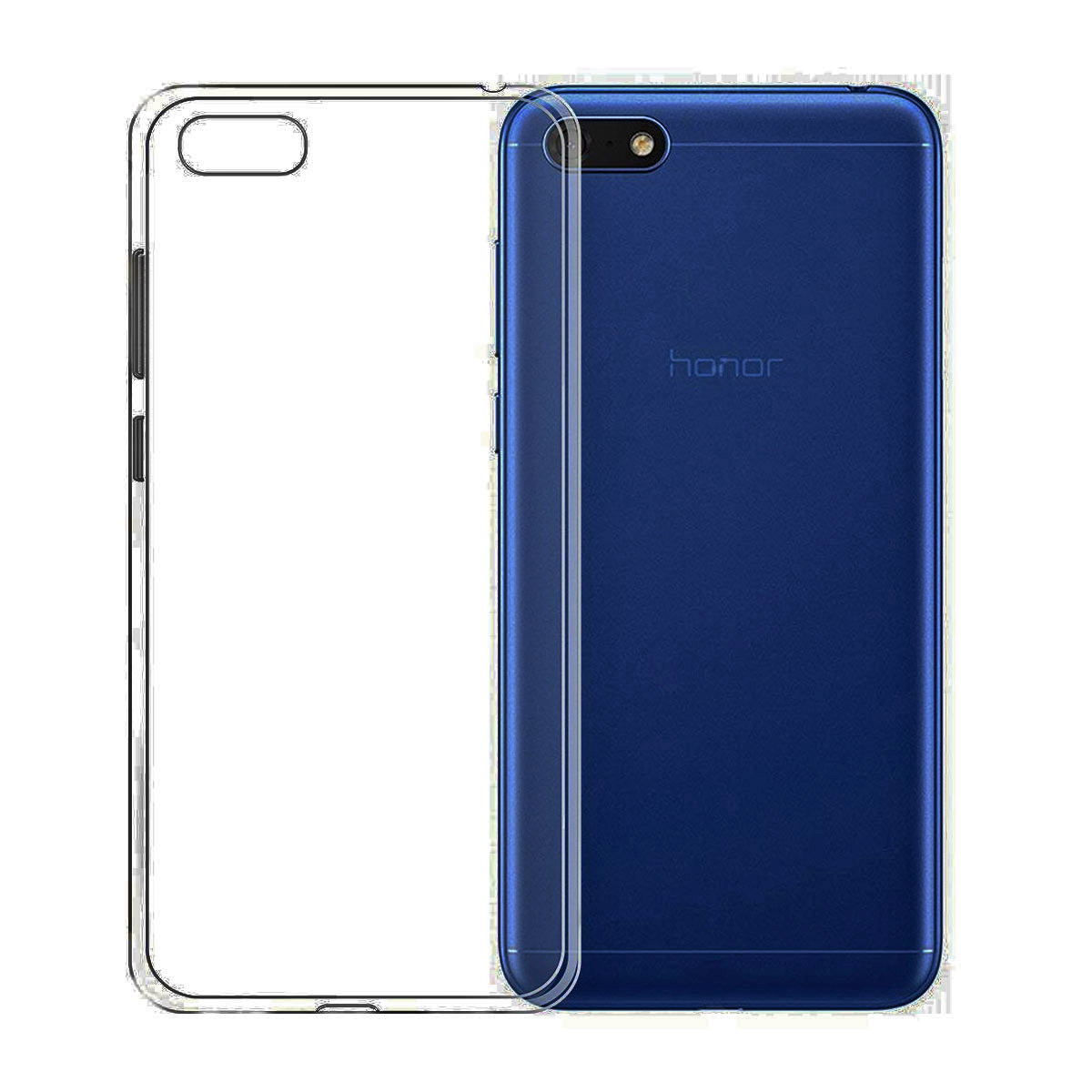 for Huawei <font><b>Honor</b></font> <font><b>7A</b></font> 8A Pro 8S 8C 8X Max 7C 7s Case Clear Transparent Soft Gel TPU Silicone Phone Cover AUM-AL00/AL20/<font><b>Dua</b></font>-<font><b>L22</b></font> image