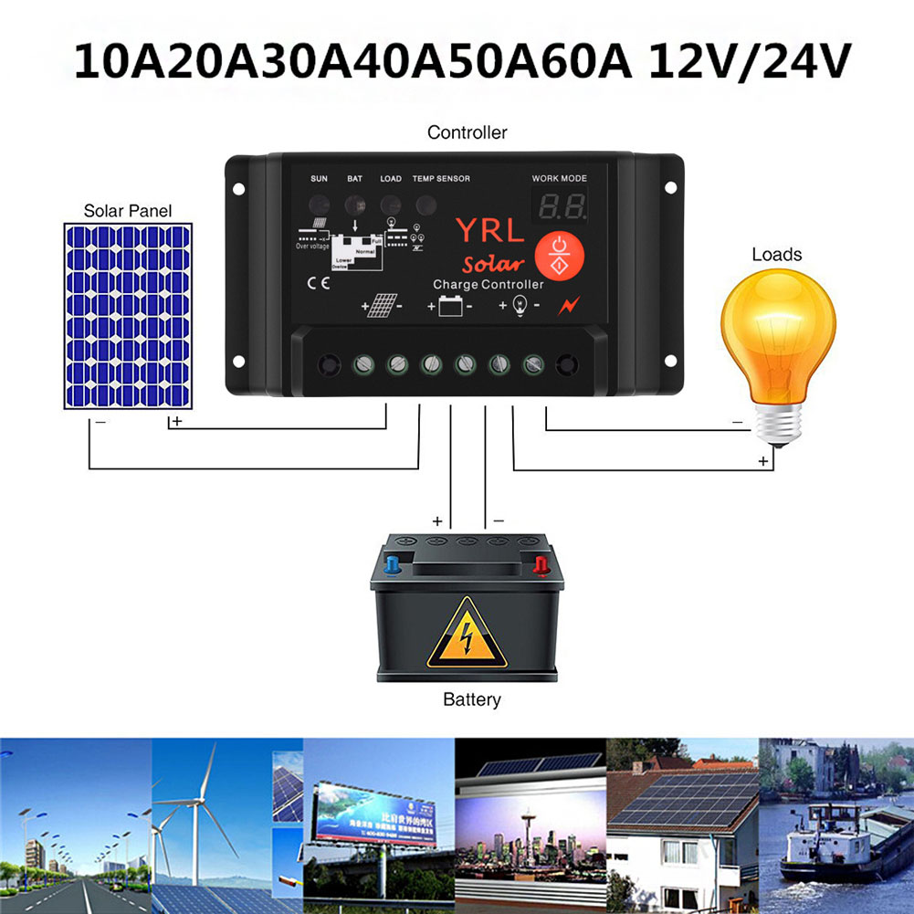 Solar Charge Controller Waterproof Y65 Digital Tube Street Light for YRL Anti-thunder Protection --M25 цена