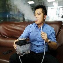 Arab shisha hookah portable bar night field suit accessories pipe Acrylic Shisha Pipe