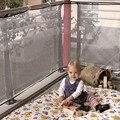 Дети Утолщение Ограждения Защиты Чистая Балкон Ребенок Забор Безопасности Ребенка Забор Безопасности Сетка Для Балкона LA881388