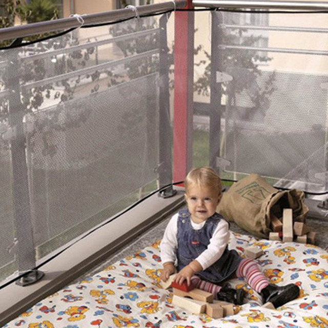 Set Balcon Children Thickening Fencing Protect Net Balcony Child