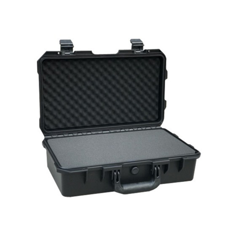 SQ5129L internal 515*289*165mm plastic flight waterproof protective case with pick pluck foam flight fgus 15