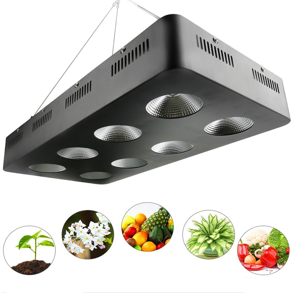 Full Spectrum 500W 1000W 1500W 2000W LED Grow Light integrated COB Grow Lamp For Indoor Hydroponics System Growing and Flowering 300w grow led light ufo full spectrum 277leds smd5730 plant grow lamp for hydroponics system aquarium grow tent flowering