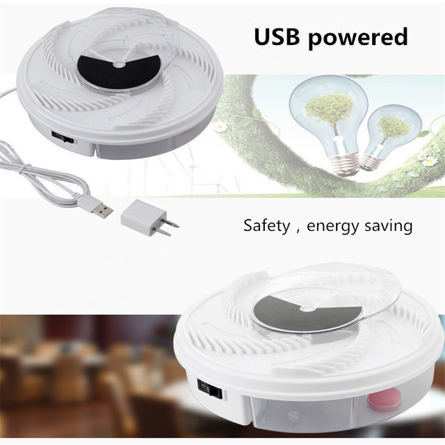 Electric Effective Fly Trap Pest Device Insect Catcher Automatic