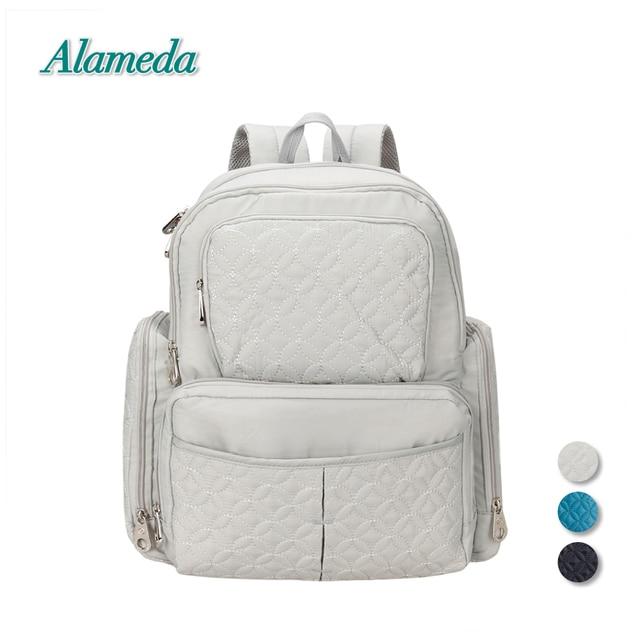 Nuevo Bebé mochila bolsas de pañales con estilo patrones acolchado ...