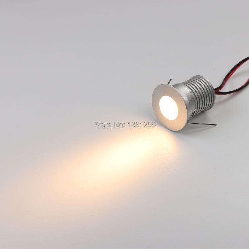 9 pcs/ensemble LED Sous L'éclairage Du Cabinet Dimmable Mini LED Encastré Vitrine Éclairage Sous Comptoir Étagère Meubles Cuisine Lumières 3 w - 2
