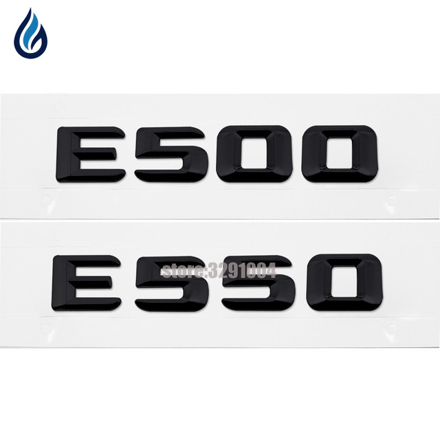 E Letter Decal Car Sticker