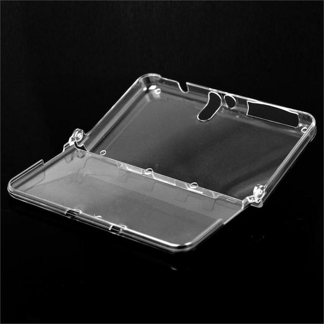 New Hot Selling Transparent Crystal Clear One-piece Hard Plastic Case Shell Skin for Nintendo New 3DS