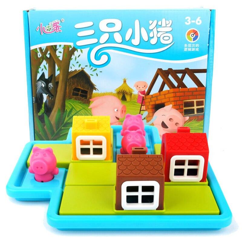 Hide & Seek 48 sfida e soluzione di Formazione IQ Giocattoli Educativi Morbido bambini Montessori intelligente creativo giocattoli interattivi