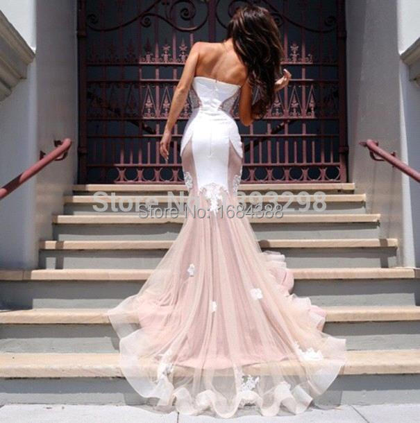 Vestidos Longos Formatura Sweetheart Lique Lace Y Mermaid Prom Dresses 2017 Abendkleider Long Tail Evening Party Dress In From Weddings