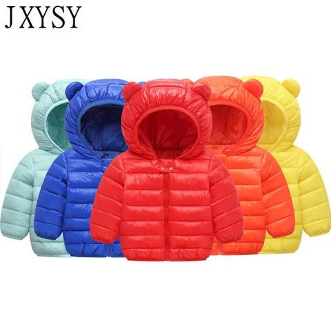 2019 Autumn Winter Jackets For Girls Coat Children Parkas Kids Boys Jackets Baby Girls Jackets Warm Hooded Outerwear Coat Pakistan