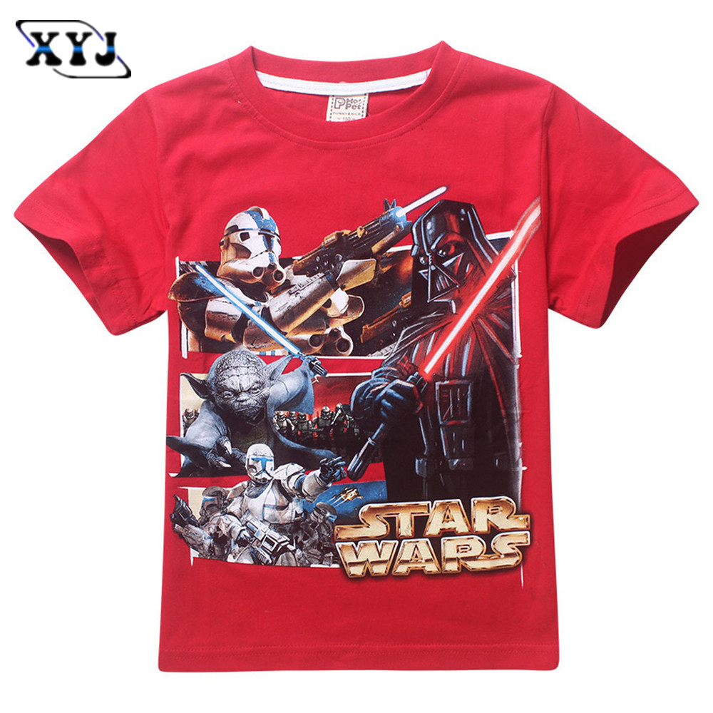 star wars boys t shirt darth vader children t shirt kids tshirt star war kids tops short sleeve. Black Bedroom Furniture Sets. Home Design Ideas