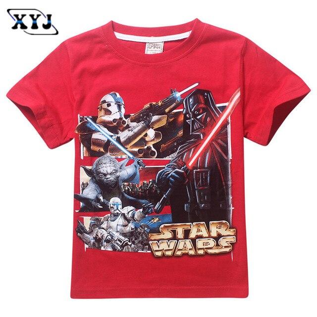 star wars boys t shirt darth vader children t shirt kids tshirt star