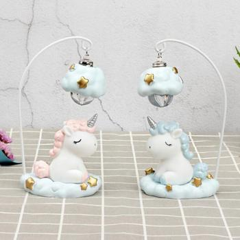 Unicorn Night Light Desktop Decoration Crafts Creative Home Decoration Accessories Valentine's Day Gift Party Ornaments 05414