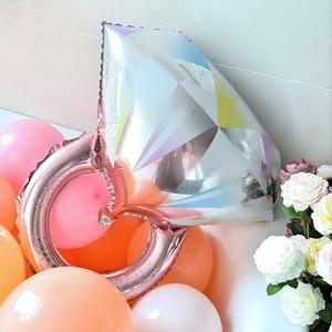 Image 3 - Романтические шары кольца для свадьбы, помолвки, свадебного торжества, юбилея, девичника, куривечерние вечеринки, дня рождения, украшение в подарок подруге невесты