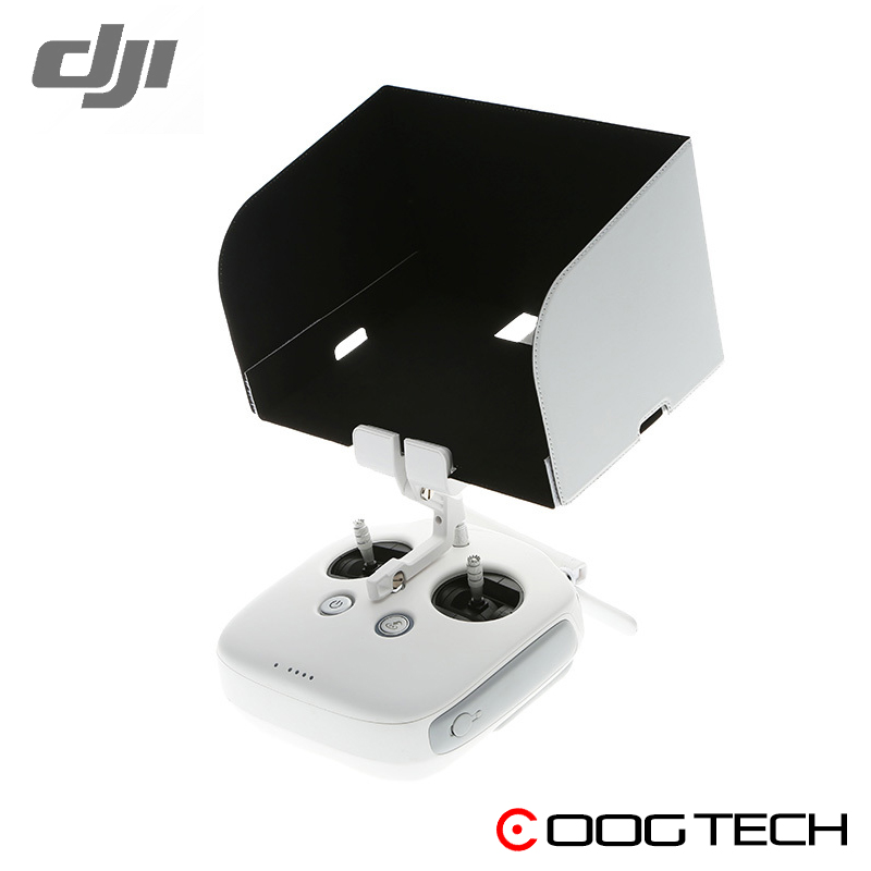 Original Remote Controller Monitor Hood for Phantom 4 Inspire Phantom 3 Professional/Advanced/4K Sunshade for Tablet Smartphone