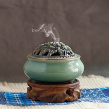 Longquan celadon incense burners aromatherapy burner stove antique ceramic fragrance of sandalwood