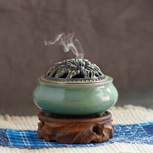 Longquan celadon incense burners aromatherapy burner stove antique ceramic fragrance of sandalwood