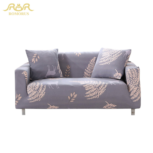 Romorus Fashion Tree Elastic Sofa Cover Furniture Decor Armchairs Sofas Sectional Couch Protector Slipcovers