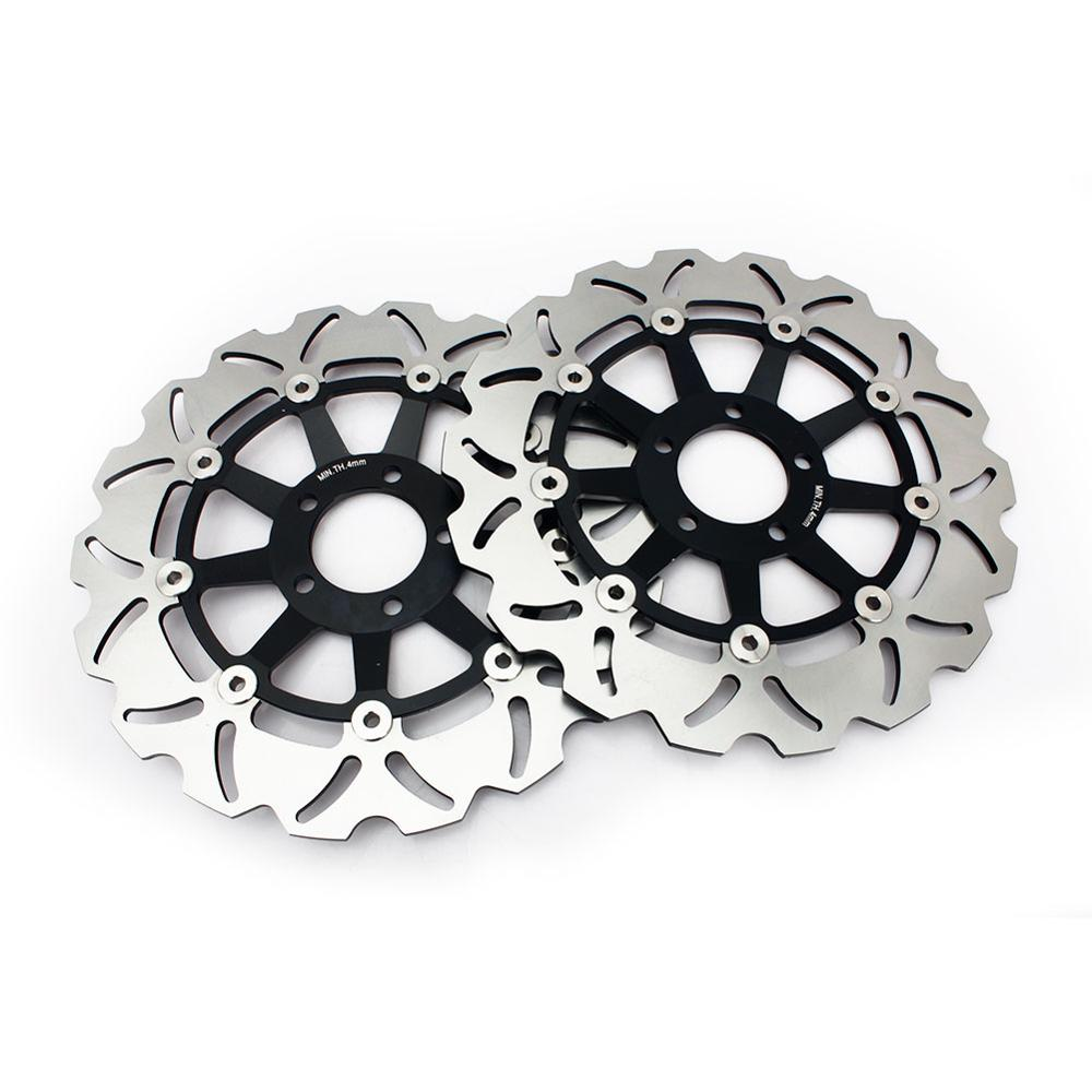 Front Rear Brake Discs Disks For KAWASAKI ZZR 1100 C1 C2 C3 1990 1991 1992 1993