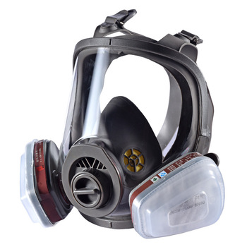 Chemical mask 7suits Gas Mask acid dust Respirator Paint Pesticide Spray Silicone filter Laboratory cartridge welding the new 2017 gas mask medical silicone paint dust dust respirator masks spraying pesticide chemical activated carbon industry