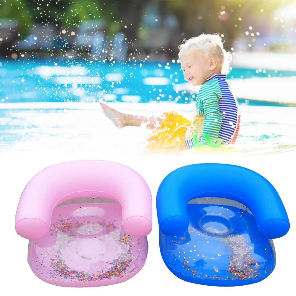 Aufblasbare Sofa Wasser Spielzeug Schwimmen Zubehör Wasser Sitz Für Kinder Air Aufblasbare Stuhl Sofa Schwimmen Sitz #40