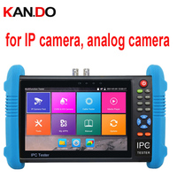IPC 9800 Plus IP & Analog camera test Five In One Camera Tester W/ Screen display cctv camera display monitor test for IP camera