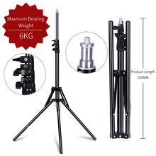 Brand Studio Photography Light Flash Speedlight Umbrella Stand 2m/6.5ft 1/4 head Holder Bracket Tripod