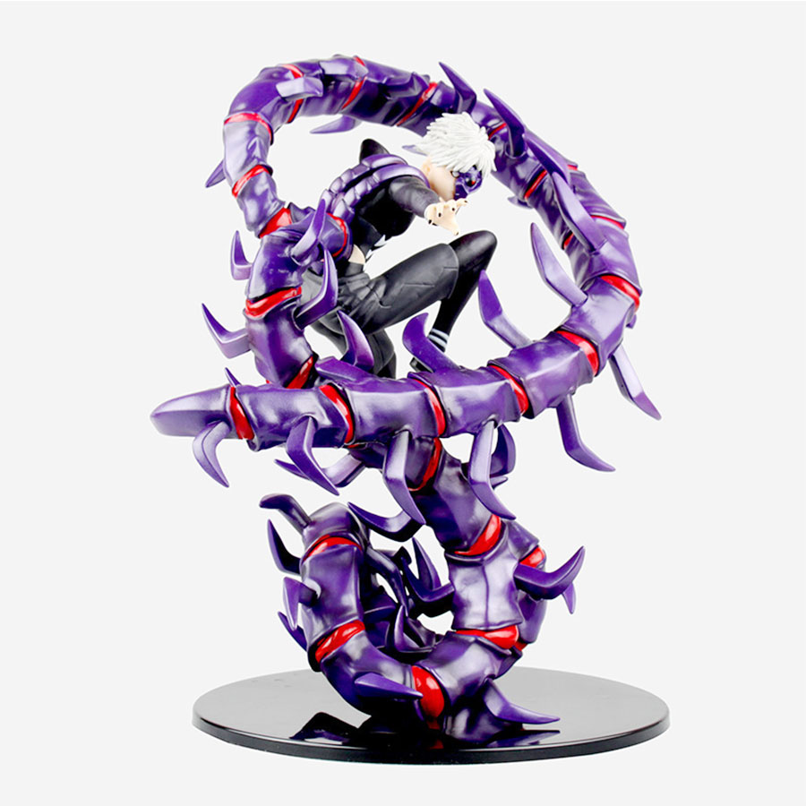 Anime Tokyo Ghoul PVC Action Figure 28cm Kaneki Ken Generation Of Dark Jin Muyan Model Collection