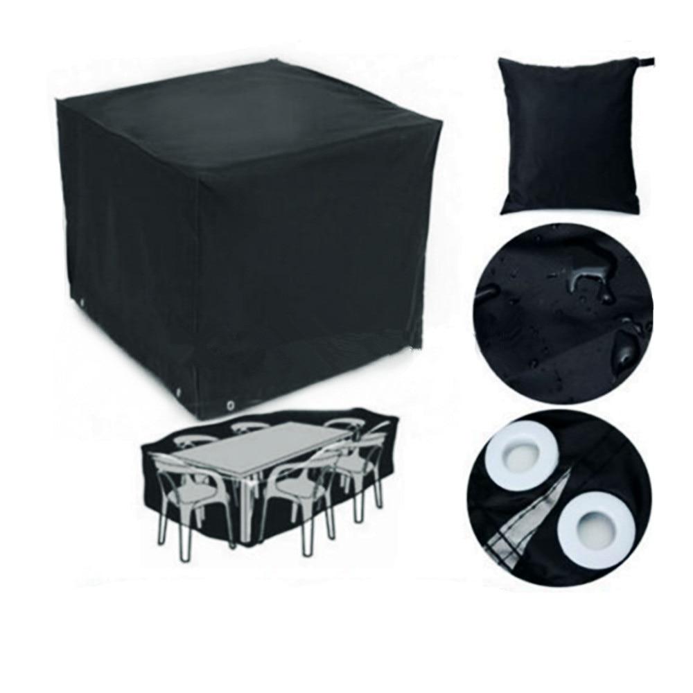 Hot selling PVC Black Nylon outdoor garden Furniture cover Desk Chair Patio Furniture Cover Waterproof door