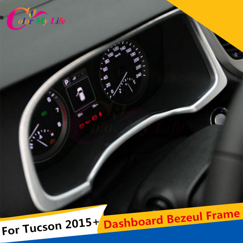 4Pcs / komplekt ABS auto instrumentaatori mõõtepaneelide kaaneplekk - Auto salongi tarvikud - Foto 2